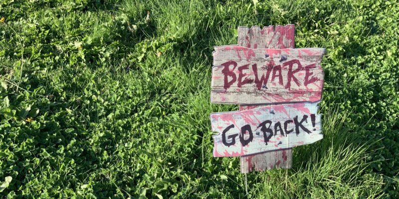 beware go back